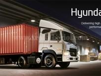 Đầu kéo Hyundai HD1000, nhập khẩu mới 100%, tải trọng kéo theo 81 tấn