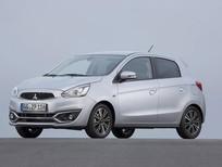 Giá xe Mitsubishi Mirage CVT màu trắng, khuyến mãi Mirage số tự động giá tốt