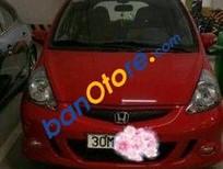 Cần bán xe Honda Jazz AT sản xuất 2008, màu đỏ, nhập khẩu, xe cũ