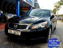 Cần bán Honda Accord 2.4 đời 2007, màu đen, nhập khẩu 2.4, giá 686 triệu