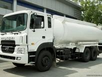 Xe tải Hyundai thể tích 18.000 lít HD260 bồn chở nhiên liệu, hỗ trợ cho vay và trả góp