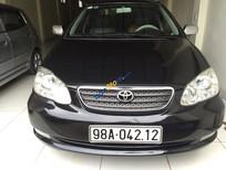 Bán ô tô Toyota Corolla Altis 1.8 G 2005, màu đen, 395tr