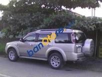 Cần bán lại xe Ford Everest MT năm 2013, màu bạc