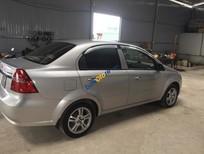Cần bán Chevrolet Aveo LT đời 2015, màu bạc, xe như mới đi rất ít