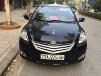 Cần bán gấp Toyota Vios E đời 2010, màu đen, số sàn