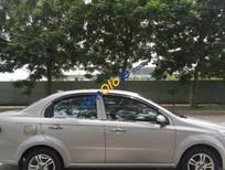 Bán Chevrolet Aveo 1.5AT đời 2013, màu bạc