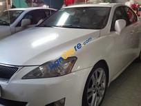Cần bán Lexus IS250 AT sản xuất 2007, màu trắng, giá 860tr