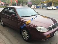 Xe Daewoo Leganza sản xuất năm 2002, màu đỏ, nhập khẩu
