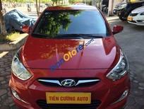 Bán Hyundai Accent 1.4 màu đỏ, nội thất màu ghi, nhập khẩu Hàn Quốc
