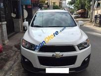 Cần bán xe Chervolet Captiva LTZ 2015, số tự động, màu trắng