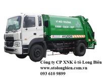 Xe ép rác Hyundai, Daewoo, Isuzu, Fuso 4-5 tấn 8-9m3 sản xuất 2017, 2018