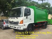 Xe ép rác Hyundai, Daewoo, Isuzu, Fuso 5-6 tấn 12-14m3 sản xuất 2017, 2018