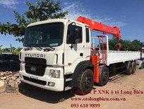 Xe tải 4 chân gắn cẩu tự hành 7 tấn, 8-10 tấn, 12-15 tấn Soosan, tanado, Kanglim, Unic, atom 2017-2018