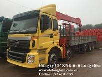 Xe tải 5 chân gắn cẩu tự hành 7 tấn, 8-10 tấn, 12-15 tấn Soosan, tanado, Kanglim, Unic, atom 2017, 2018