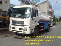 Xe bồn chở xăng dầu 6,11, 12m3, Long Biên, Hà Nội 2017, 2018