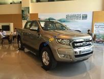 Cần bán xe Ford Ranger XLT 4x4 MT đời 2017, màu ghi vàng, nhập khẩu, hỗ trợ trả góp hơn 80%