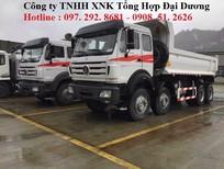 Xe ben 4 chân Beiben tải trọng cao tại Hà Nội 2016, 2017