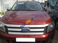 Cần bán gấp Ford Ranger XLS MT sản xuất 2013, màu đỏ