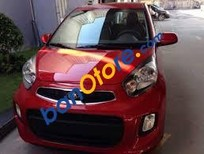 Bán xe Kia Morning EXMT 2018, màu đỏ sẵn xe giảm ngay tiền mặt cho khách hàng 2018