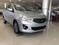 Bán xe Mitsubishi Attrage, màu bạc, xe nhập, góp 80%xe, LH Lê Nguyệt: 0988799330