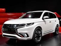Cần bán Mitsubishi Outlander 2017, màu trắng, nhập khẩu