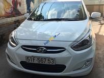 Cần bán xe Hyundai Accent Blue năm sản xuất 2015, màu trắng, nhập khẩu