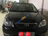 Cần bán Toyota Corolla altis 1.8G đời 2002, màu đen