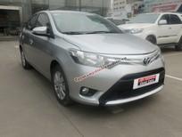 Cần bán lại xe Toyota Vios E đời 2014, màu bạc, số sàn