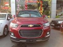 Bán xe Chevrolet Captiva 2016, màu đỏ, giá tốt