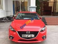 Cần bán gấp Mazda 3 AT đời 2015, màu đỏ đã đi 17000 km, giá chỉ 785 triệu
