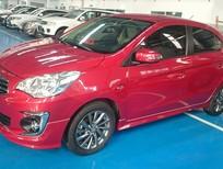 Bán Attrage CVT Eco số tự động, màu đỏ, nhập khẩu, giá tốt tại Mitsubishi Đà Nẵng