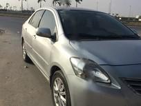 Bán xe cũ Toyota Vios 1.5G đời 2010, màu bạc xe gia đình