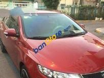 Cần tiền bán gấp Kia Cerato MT đời 2009, màu đỏ số sàn, giá tốt