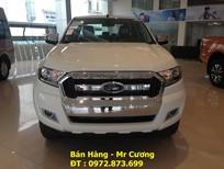 Bán Ford Ranger XLT 4x4 MT 2016, màu trắng, nhập khẩu giao ngay