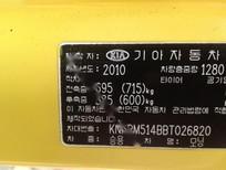 Cần bán lại xe Kia Morning SLX 1.0AT sản xuất 2010, màu vàng, nhập khẩu chính chủ