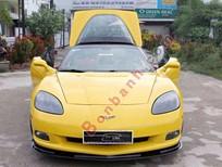 Cần bán gấp Chevrolet Corvette C6 6.2L V8 sản xuất 2009, màu vàng, xe nhập
