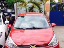 Bán xe Hyundai i10 1.2AT năm 2015, màu đỏ, nhập khẩu