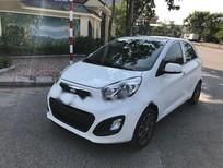 Cần bán lại xe Kia Morning Si AT sản xuất năm 2014, màu trắng