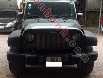 Xe Jeep Wrangler Unlimited Sport sản xuất 2010, màu đen