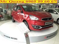Bán ô tô Mitsubishi Mirage đời 2017, màu đỏ, nhập khẩu thái giá cạnh tranh, Lh Quang 0905596067