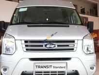 Bán Ford Transit tiêu chuẩn (Medium) đời 2017, màu bạc - LH: 0901 517 888