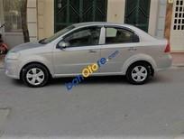 Cần bán Daewoo Gentra đời 2009, màu bạc
