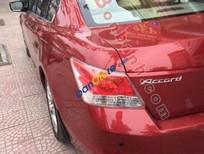 Bán Honda Accord 2.4 năm 2008, màu đỏ, nhập khẩu nguyên chiếc chính chủ, giá 650tr