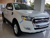 Cần bán xe Ford Ranger XLT năm 2018, màu trắng, nhập khẩu chính hãng giá tốt