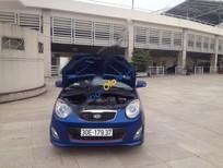 Cần bán gấp xe Kia Morning LX đời 2012, màu xanh lam