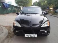 Cần bán lại xe Ssangyong Kyron 2.0MT đời 2007, màu đen, nhập khẩu chính hãng còn mới, giá 350tr
