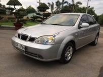 Cần bán xe Daewoo Lacetti SE năm sản xuất 2005, màu bạc