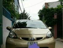 Bán Toyota Aygo năm sản xuất 2009, màu vàng, xe nhập