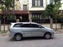 Xe Toyota Innova G năm sản xuất 2009, màu bạc xe gia đình