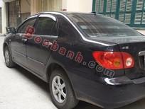 Bán xe Toyota Corolla Altis số sàn, màu đen